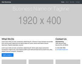 Nro 16 kilpailuun Full home page design käyttäjältä languagedr