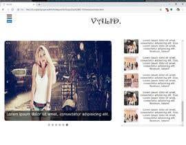 Nro 19 kilpailuun Full home page design käyttäjältä vdjpronab2