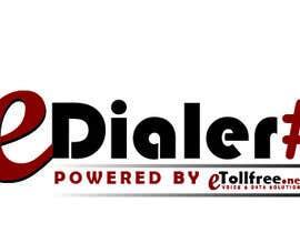 Nro 91 kilpailuun Create Logo For eDialer käyttäjältä Nadim555Ahmed