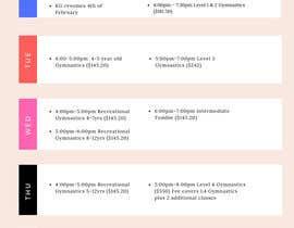 Nro 4 kilpailuun Design a timetable käyttäjältä kartikeym1212