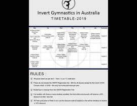 Nro 3 kilpailuun Design a timetable käyttäjältä Heartbd5