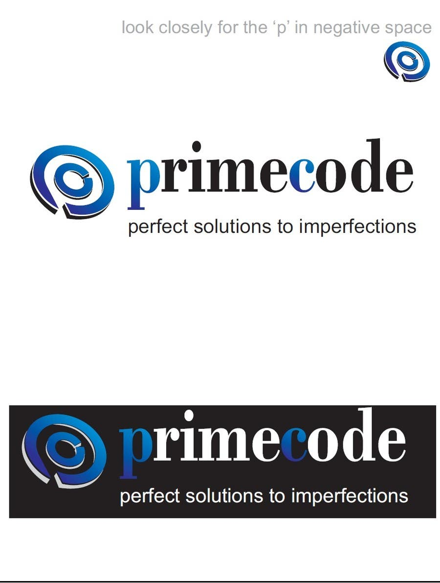 #58 for Logo Design for technology company 'Primecode' with tag line by TheAVashe
