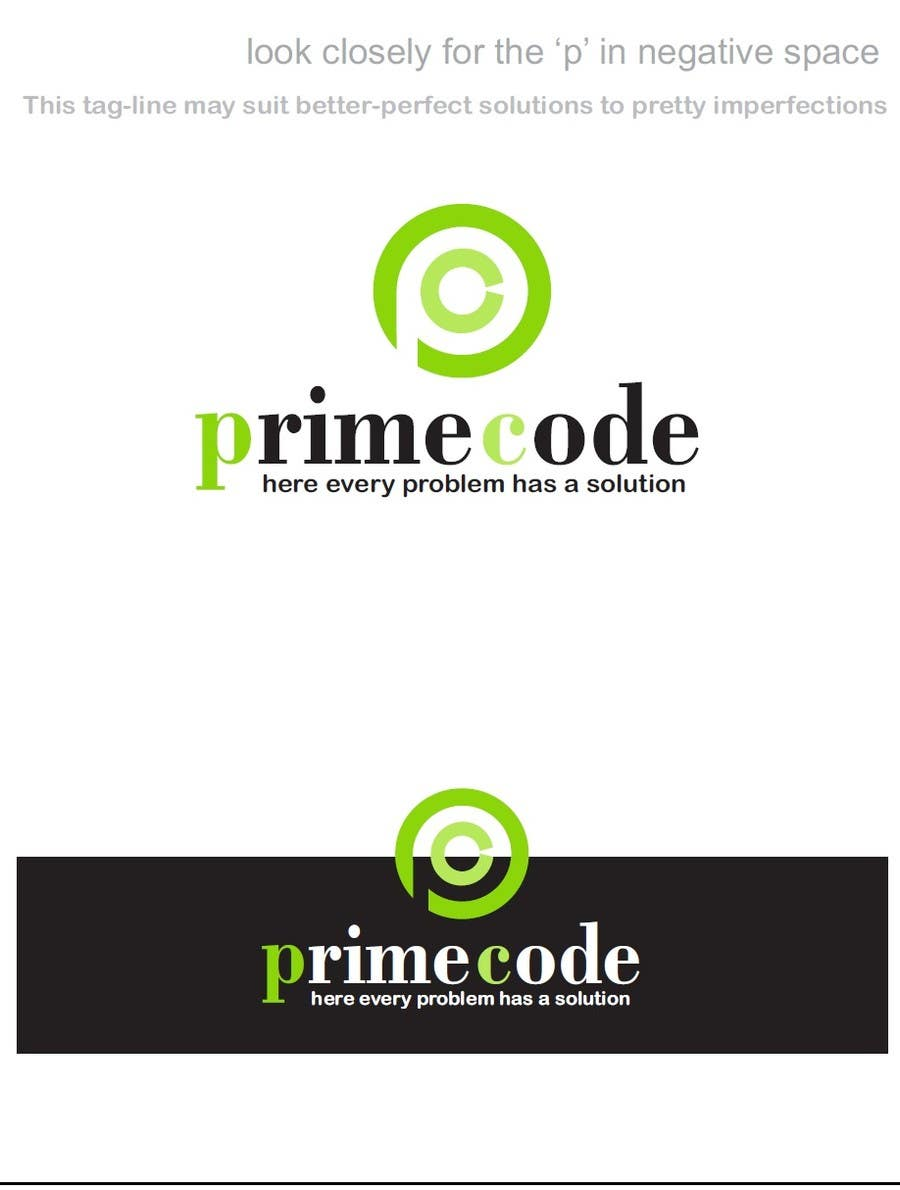 #89 for Logo Design for technology company 'Primecode' with tag line by TheAVashe