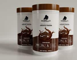 #68 for Design Packaging of Protein Powder New Product line by saoasprovski