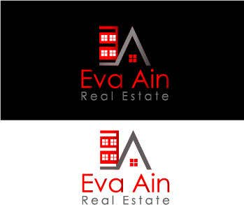 Penyertaan Peraduan #15 untuk I am looking for a sleek and modern logo for my real estate business. The name is Eva Ain Real Estate and my initials are EA.  You can use a house or not, I am okay with either. I am looking for silver/black or silver/black/red. Thank you!