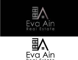 #17 untuk I am looking for a sleek and modern logo for my real estate business. The name is Eva Ain Real Estate and my initials are EA.  You can use a house or not, I am okay with either. I am looking for silver/black or silver/black/red. Thank you! oleh ihsanaryan