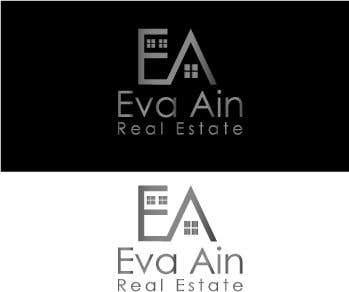 Penyertaan Peraduan #23 untuk I am looking for a sleek and modern logo for my real estate business. The name is Eva Ain Real Estate and my initials are EA.  You can use a house or not, I am okay with either. I am looking for silver/black or silver/black/red. Thank you!