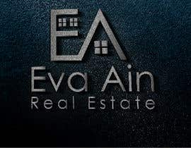 #24 untuk I am looking for a sleek and modern logo for my real estate business. The name is Eva Ain Real Estate and my initials are EA.  You can use a house or not, I am okay with either. I am looking for silver/black or silver/black/red. Thank you! oleh ihsanaryan