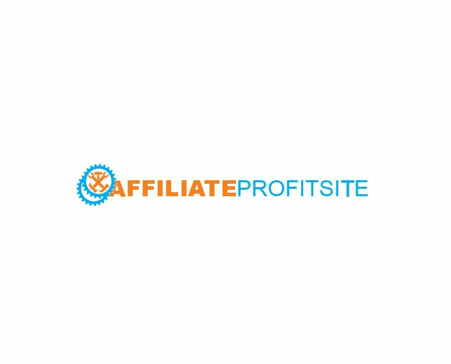 """Intrarea #29 pentru concursul """"I'm putting together a site called: affiliateprofitsite. I would like a logo similar to the examples attached. I want it easy to read, clean, modern and the color scheme should consist of blue, orange, black and white or the Clickfunnels colors lol."""""""