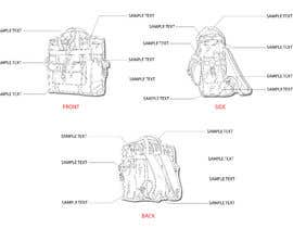 #12 para Line drawing of Clear Backpacks por PlutusEnt