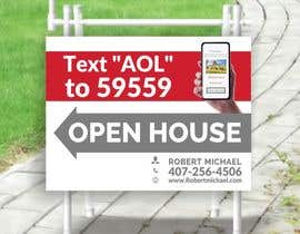 #14 cho Open House Sign bởi ConceptGRAPHIC