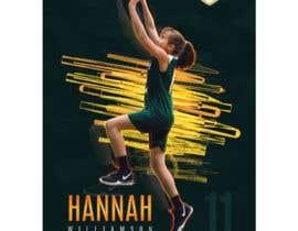#111 para Sports Basketball Poster por darbarg