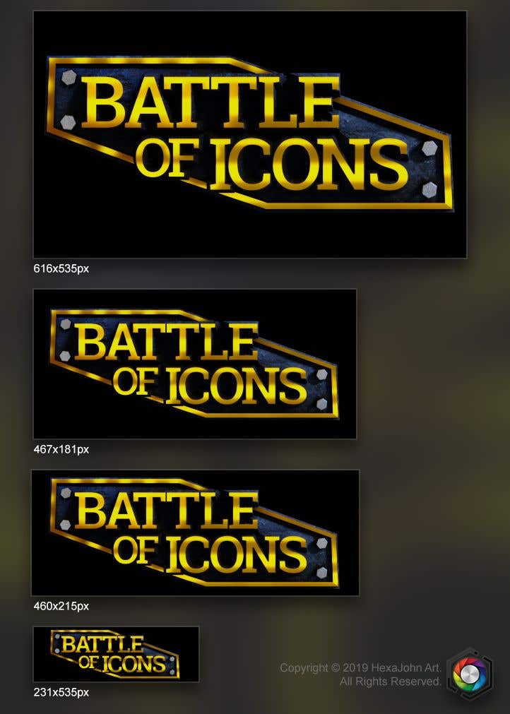 Proposition n°58 du concours Video Game Title Logo + Background for title Logo