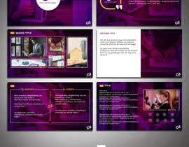 ayoubshopro tarafından Create a Powerpoint Template/master based on our brand identity için no 19
