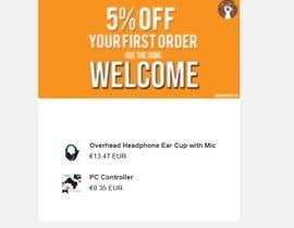 nº 8 pour Build email design for orders delivery and slideshow design for website par bayasine