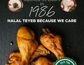 Nro 23 kilpailuun Create a poster advertising chicken meat käyttäjältä hadewa
