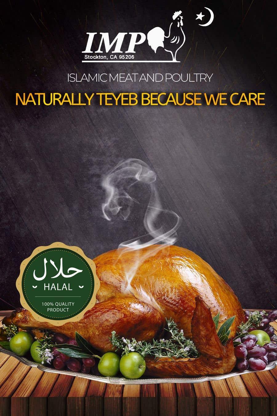 Kilpailutyö #144 kilpailussa Create a poster advertising chicken meat
