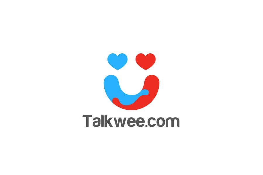 Konkurrenceindlæg #2 for I need logo for dating site where user will be able to make calls to each other. Name is talkwee.com