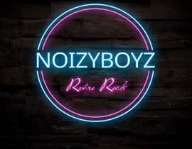 #5 untuk I need a band logo designed for a cover band that plays retro rock/ pop. Thinking neon or 80s style. Band name is                      NoizyBoyz.                                                     Show me what you've got oleh krishnendum842