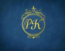 """nº 31 pour i need design for initials """"PK"""", it will be used in wedding purpose, luggage tags etc. par Xbit102"""