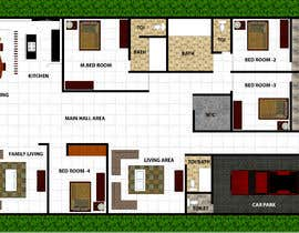 #12 for House redesign (floor plan & basic exterior sketches only) af shahidullah79