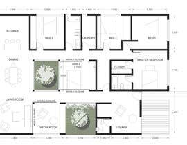 #27 for House redesign (floor plan & basic exterior sketches only) af ofeliapereyra