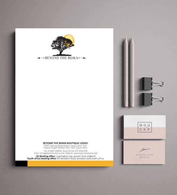 Kilpailutyö #93 kilpailussa Letterhead design