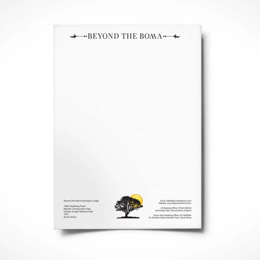 Kilpailutyö #42 kilpailussa Letterhead design