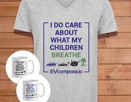 nº 37 pour Create a funny sticker/t-shirt/mug design promoting electric cars par danijelaradic