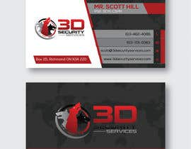 #72 untuk Need a professional and eye-catching business card oleh victorartist