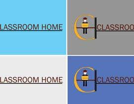 nº 51 pour Logo for an online educational website Classroom Home par laraibkay