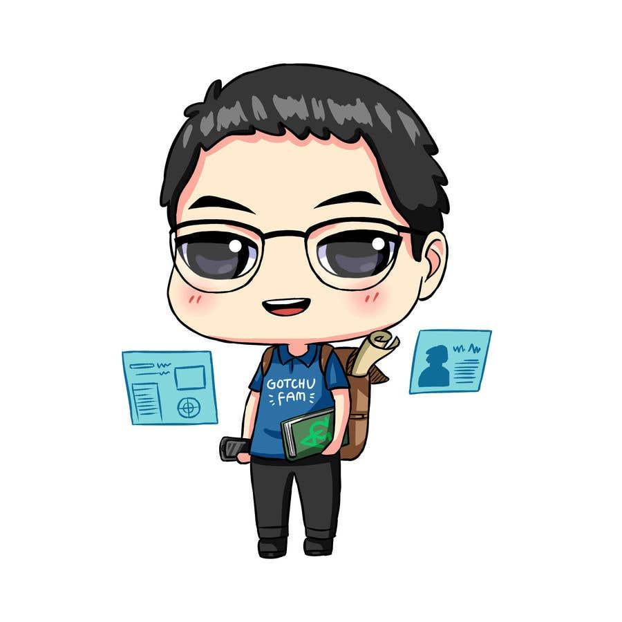 Inscrição nº 44 do Concurso para Make Caricatures of the Freelancer Mobile Team