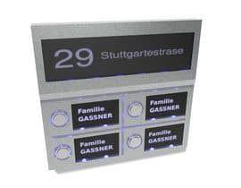 nº 15 pour Create a Stainless Steel Doorbell Design par JulijanAndjelic