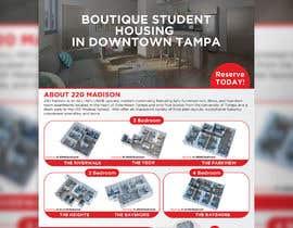 #87 para Develop Student Housing Marketing Flyer/Poster por graphicshero