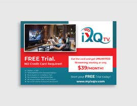 "#51 untuk Design a single sided 4"" X 6"" Flyer for TV Streaming Service oleh darbarg"