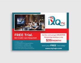 "darbarg tarafından Design a single sided 4"" X 6"" Flyer for TV Streaming Service için no 51"