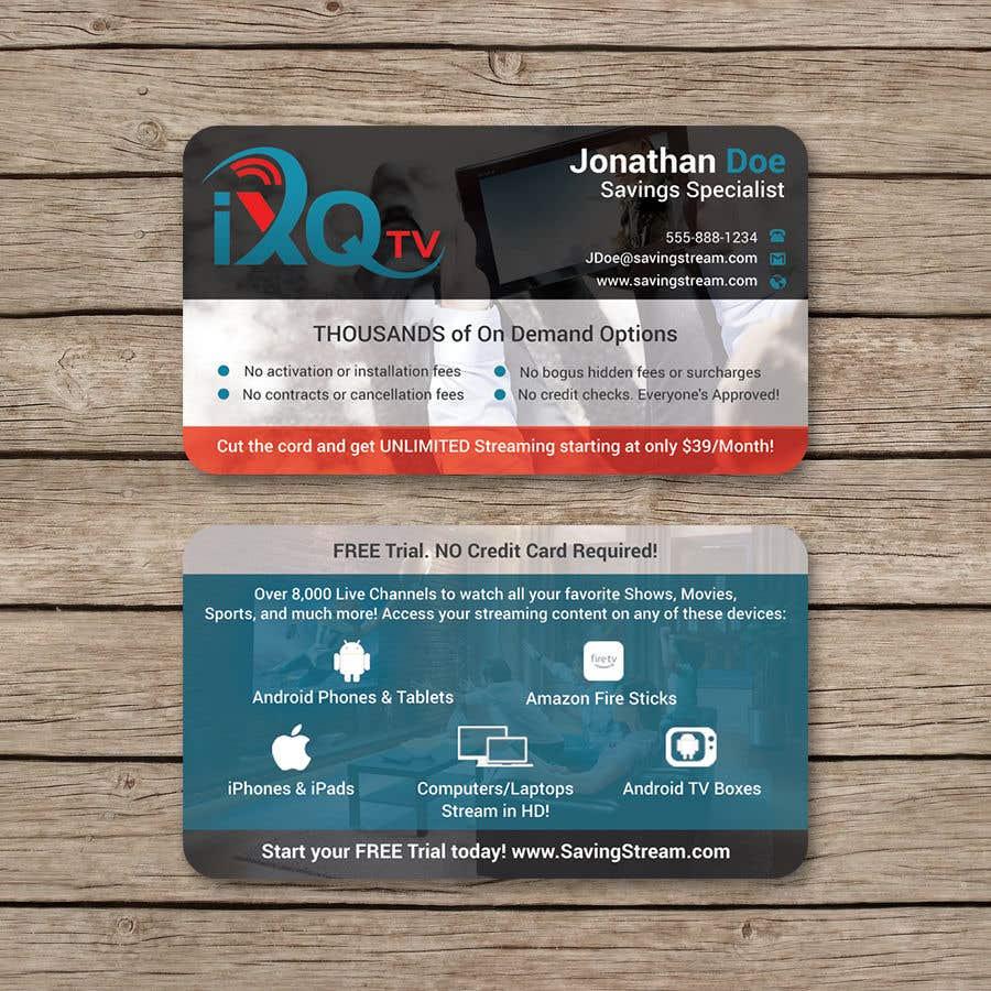 Inscrição nº 41 do Concurso para Design Double Sided Business Cards *MULTIPLE WINNER*