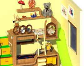 #22 pentru Design a cool bed for my two boys (5 and 2). de către rashadmanu11