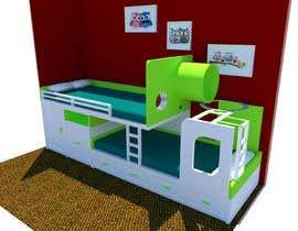 #34 pentru Design a cool bed for my two boys (5 and 2). de către rashadmanu11