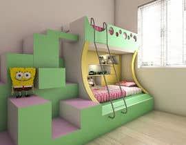 #16 pentru Design a cool bed for my two boys (5 and 2). de către YasharLuxuryArt