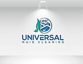 Nro 12 kilpailuun Design a Logo - Universal Maid Cleaning käyttäjältä designstudio752