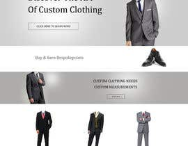dragnoir tarafından Website Design for Magento Ecommerce Site - Mens custom clothing için no 15