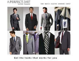 #26 for Website Design for Magento Ecommerce Site - Mens custom clothing by dragnoir