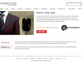 #28 for Website Design for Magento Ecommerce Site - Mens custom clothing by dragnoir
