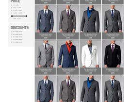 mughikrish tarafından Website Design for Magento Ecommerce Site - Mens custom clothing için no 8