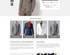 mughikrish tarafından Website Design for Magento Ecommerce Site - Mens custom clothing için no 11