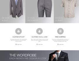 farhanpm786 tarafından Website Design for Magento Ecommerce Site - Mens custom clothing için no 16