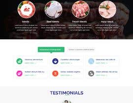 #29 for Design a Website for a Halal Meat Certifying Agency in US af RajinderMithri