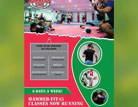 #31 for Re-design flyer for HF45 classes af ikramhq