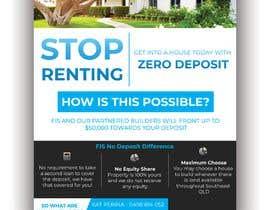 Nro 112 kilpailuun Create a flyer - No Deposit Homes käyttäjältä TH1511